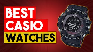10 BEST CASIO G SHOCK WATCHES FOR MEN IN 2021 (Buyers Guide and Reviews)