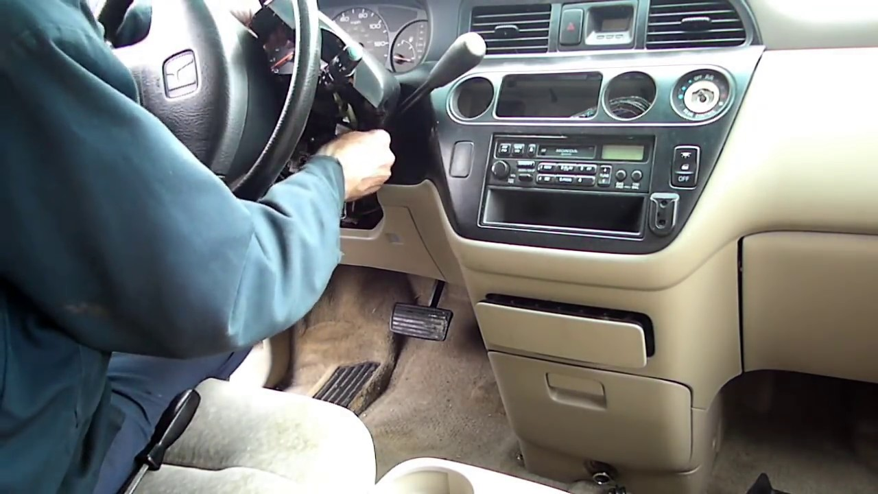 Honda Odyssey Multifunction Switch Removal