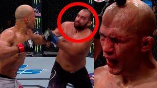 ДОС САНТОС ПРОТИВ БЛАГОЙ ИВАНОВА ! ОБЗОР БОЯ НА UFC FN 133 !