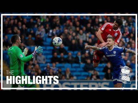 Cardiff City 1-1 Birmingham City   Championship Highlights 2016/17
