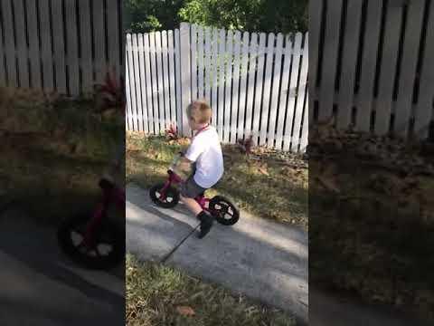 Zoomy Balance Bike Ridden By A 6 Year Old Youtube