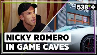 Nicky Romero kocht 'Slide'-piano van Calvin Harris! | Game Caves #7