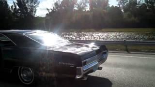 my 1965 pontiac catalina on the highway (my girlfriend shot this video)