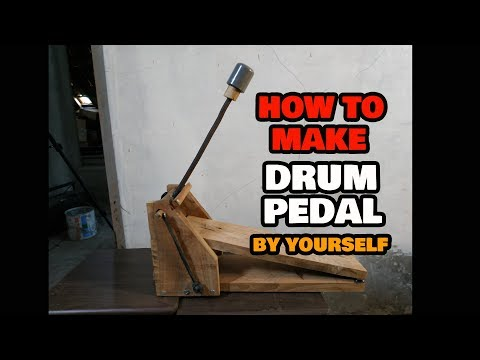 How To Make Drum Pedal By Yourself