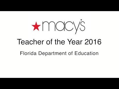 2016 Florida Teacher of the Year
