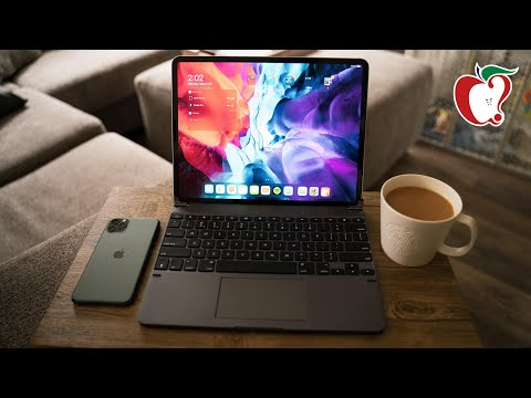 New Brydge Pro+ Keyboard With Trackpad For IPad Pro!