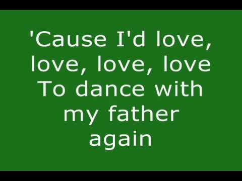 Dance With My Father - Celine Dion (Lyrics)
