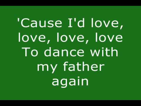 Dance With My Father  Celine Dion Lyrics