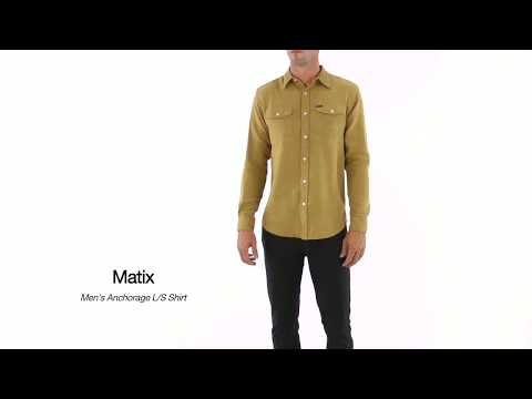 Matix Men's Anchorage Long Sleeve Shirt   SwimOutlet.com