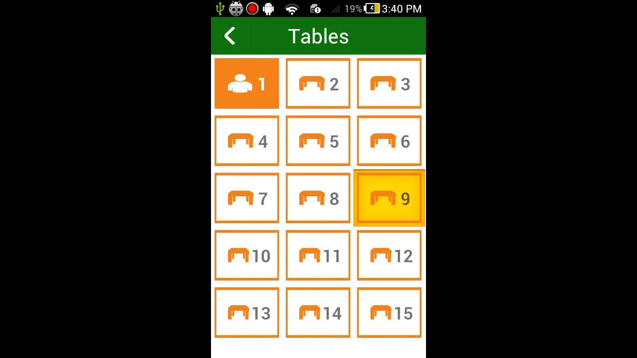 Project Template Restaurant Waiter Android App Template
