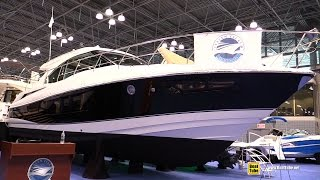 2015 Cruisers Yachts Cantius 45 Motor Yacht - Walkaround - 2015 New York Boat Show
