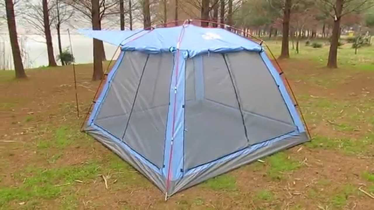 4~5 Person Single Layer Dome Summer C&ing Tent/Picnic Tent with 4 Doors & 4~5 Person Single Layer Dome Summer Camping Tent/Picnic Tent with ...