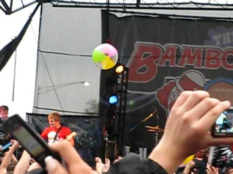 """A Day To Remember """"Downfall Of Us All""""  Bamboozle 2009 Meadowlands Complex NJ"""