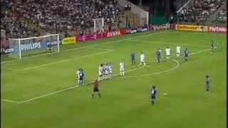 nakamura FK 中村 コンフェデレーションズカップ2003 日本VSフランス.