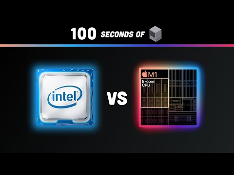 How a CPU Works in 100 Seconds // Apple Silicon M1 vs Intel i9