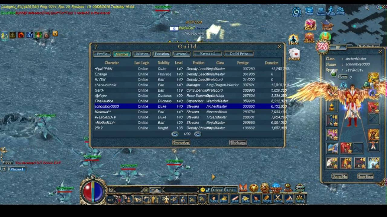 conquer online chaos-bunnie talks allocating attribute points