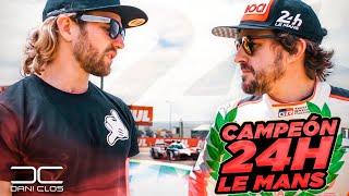 24h con FERNANDO ALONSO y TOYOTA en LE MANS desde DENTRO | Dani Clos