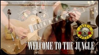 'Welcome To The Jungle' by Guns N Roses - COVER - Performed by Karl Golden & Sandra Szabo