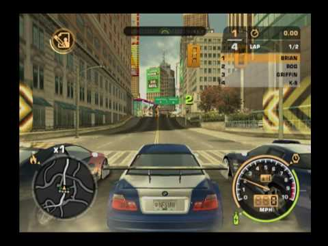 Need For Speed Most wanted PS2 Gameplay part.2 - YouTube Ps2 Need For Speed