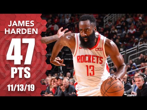 James Harden with 47/7/6 in a win against the Clippers