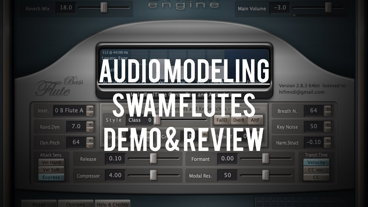 Audio Modeling - SWAM Flutes: Demo & Review - - vimore org