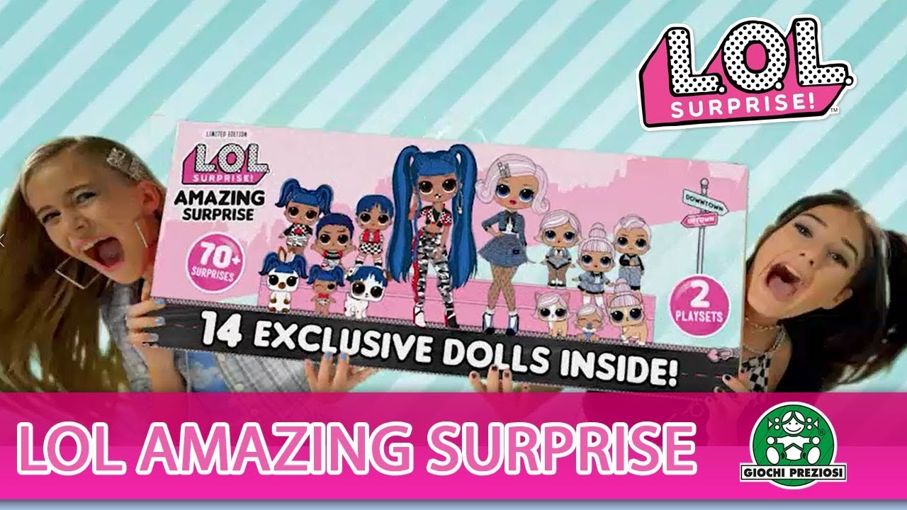 L.O.L Surprise / Amazing Surprise / Pub TV / Giochi France