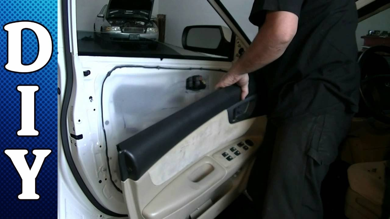 How To Remove And Replace A Door Panel And Door Handle 2005 Thru 2010 Kia Optima Youtube