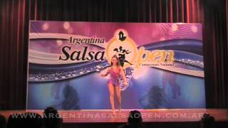 Denise Soules - 12do Lugar - Semifinal - Argentina Salsa Open 2015