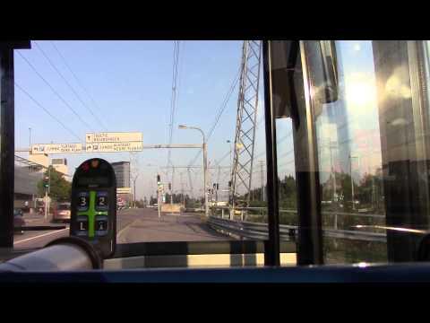 Helsinki Bus Ride HEL Airport to Tikkurila HSL Route 61