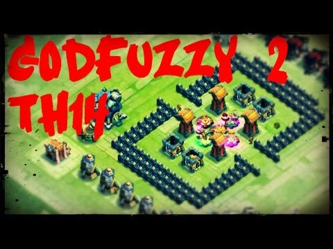 DirtyBase: GodFuzzy 2 - TownHall 14 - Here Be Monsters: Castle Clash