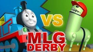ROBLOX: [RACING] MLG Derby: Thamas Civil War by Seven Levels - Gameplay/Walkthrough