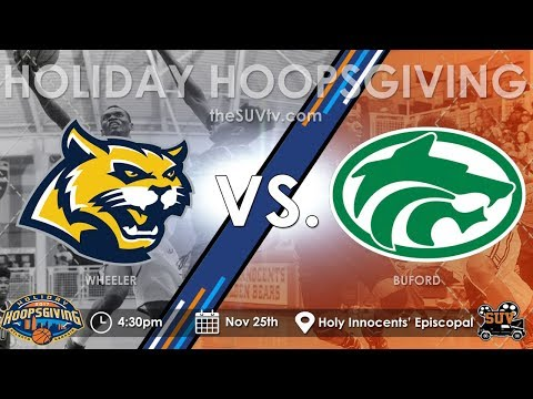 2017 Holiday Hoopsgiving: Wheeler (GA) vs. Buford (GA) - (EJ Montgomery vs. Marcus Watson)