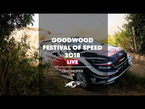 Goodwood Festival of Speed 2018  LIVE - Day 4