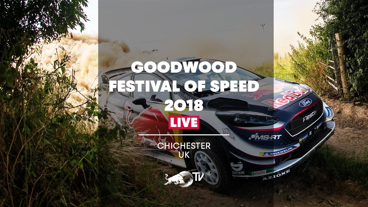 Goodwood Festival Of Speed 2018 Live Day 4 Youtube