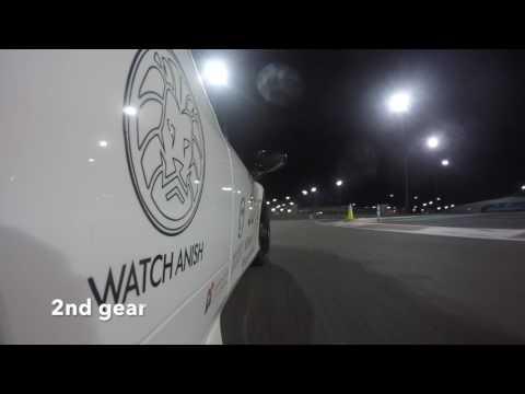Ferrari 458 Speciale brake failure at Yas Marina Abu Dhabi