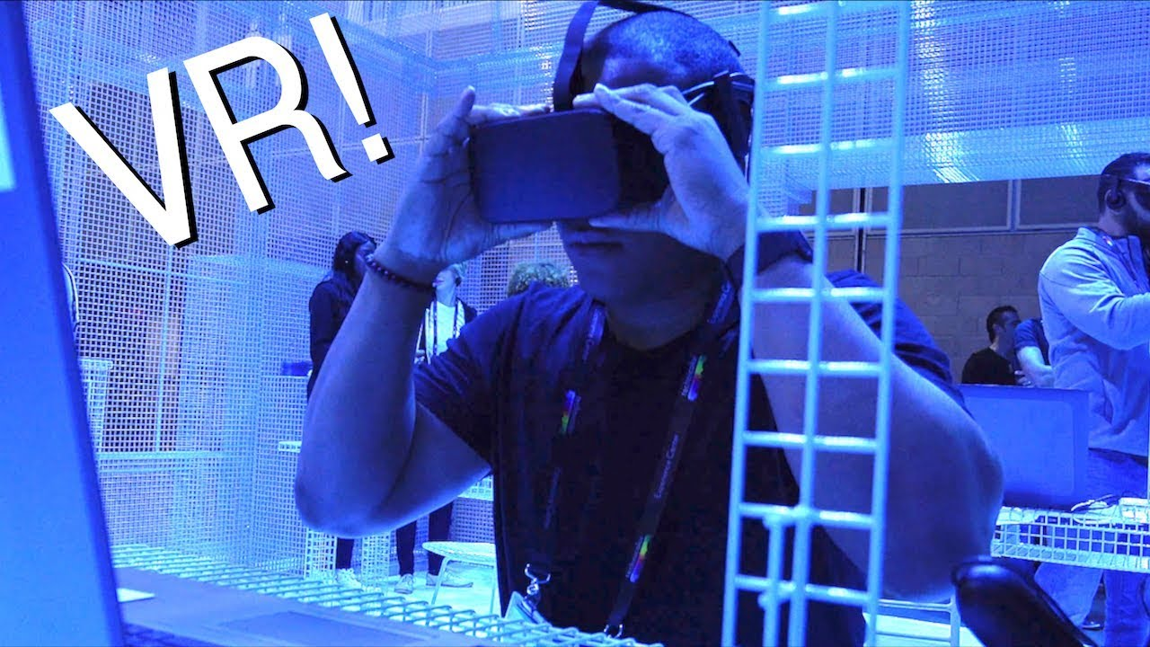 96e3145c16e5 Hands-On with the Future of Virtual Reality! - YouTube