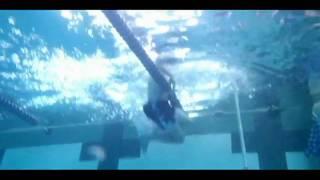 Avon Lake HS-(Ohio)-underwater Pole vault techniques.