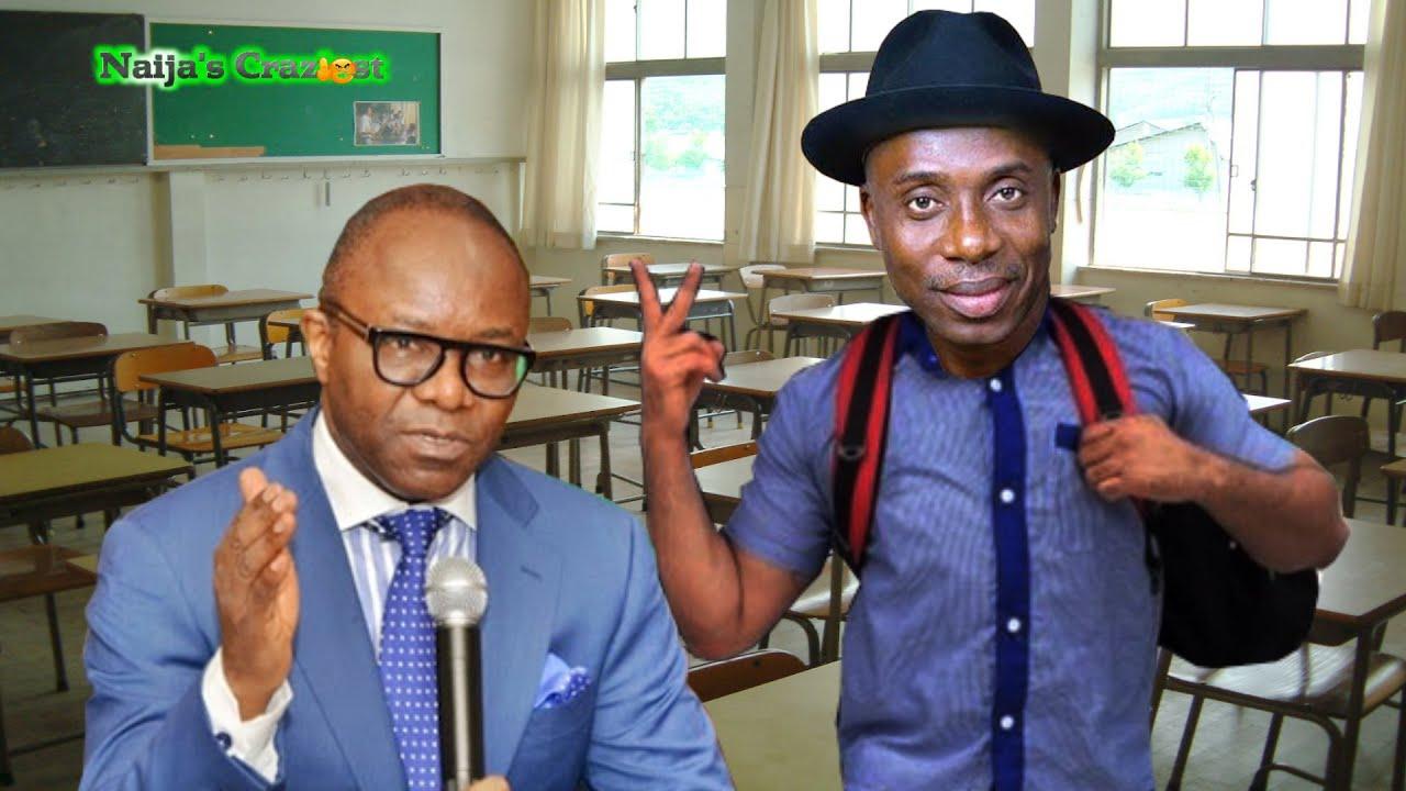Download Kachikwu takes Rotimi Amaechi Back  to School- Hilarious