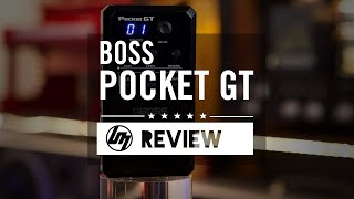 BOSS Pocket GT Effects Processor | Better Music