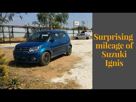 Ignis zeta petrol manual | On road mileage | Fuel economy test | Variable driving conditions