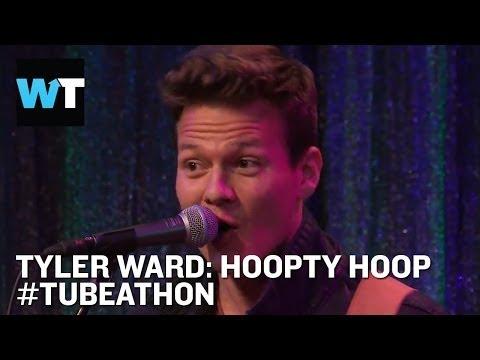 """Tyler Ward Sings """"Hoopty Hoop"""" LIVE   #Tubeathon"""