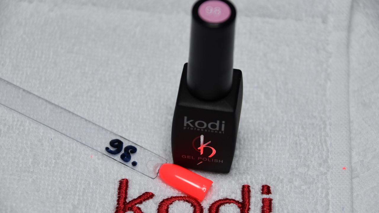Kodi - professional ( Gel polish 98 ) ( Гель лак номер 98) - YouTube