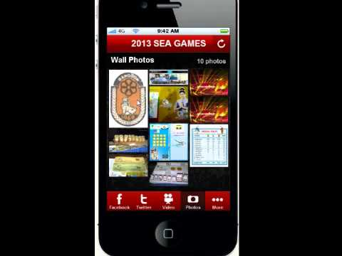 2013 SEA Games mobile applications.