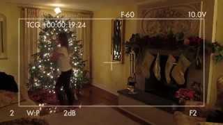 Catching Santa on video