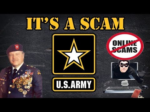 Fake Soldier Romance  Scams