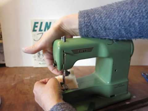 ELNA JUNIOR TOY SEWING MACHINE 40 YouTube Cool Elna Junior Sewing Machine
