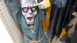 hanging prisoner zombie at canadian tire