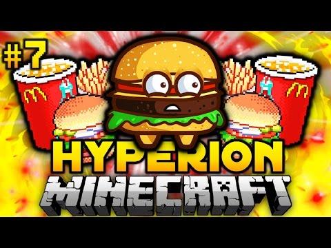 Der SAFTIGE KRABBENBURGER?! - Minecraft Hyperion #07 [Deutsch/HD]