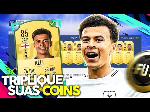 TRIPLIQUE AS SUAS COINS FACILMENTE NO FIFA 19 ! DICA DE TRADE !