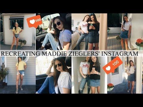 I Copied Maddie Ziegler's Instagram For a Week...